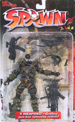 Spawn IV Series 12 Action Figure (Spawn Toy Mcfarlane 1 Series)