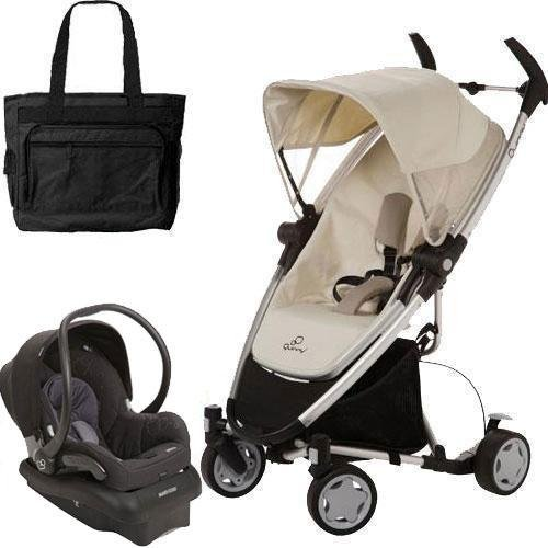 QUINNY Zapp Xtra Folding Seat Stroller Travel System with...