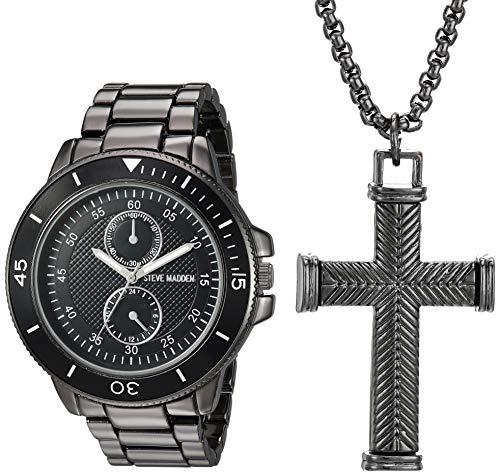 Steve Madden Fashion Watch (Model: SMWS034BK)