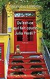 """Afficher """"Qu'est-ce qui fait courir Julia Verdi ?"""""""