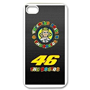 Exquisite stylish phone protection shell iPhone 4,4S Cell phone case for Valentino Rossi pattern personality design