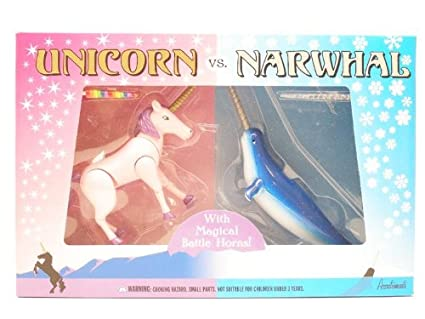 Amazoncom Unicorn Vs Narwhal Play Set Toys Games