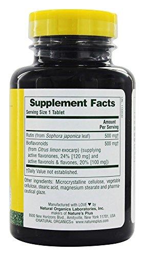 Nature's Plus - Biorutin, 1000 mg, 90 tablets