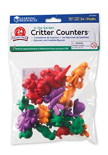 Learning Resources In the Garden Critter Counters Smart Pack