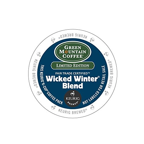 Keurig® K-Cup® Quit 18-Count Green Mountain Coffee® Wicked Winter Blend