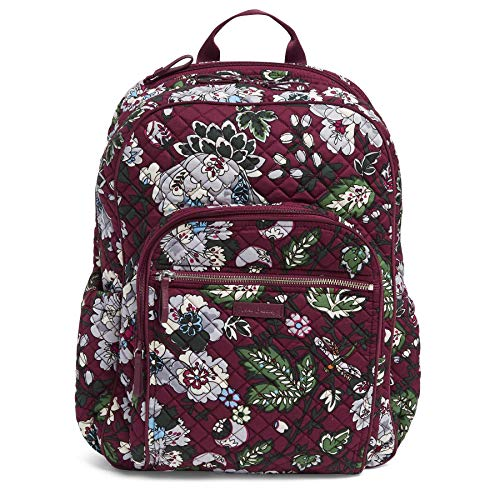 Vera Bradley Iconic Campus Backpack, Signature Cotton