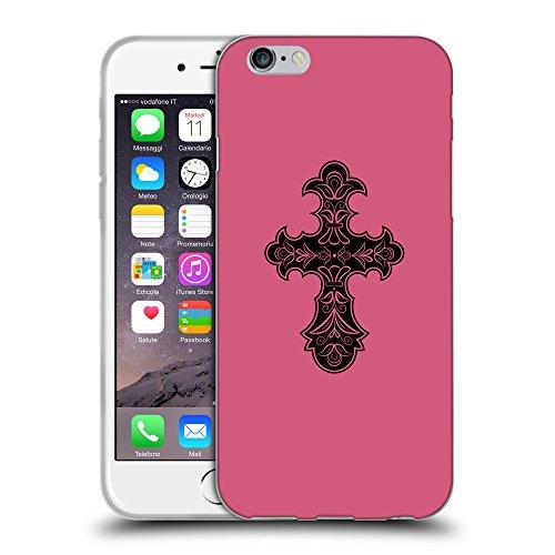 "GoGoMobile Coque de Protection TPU Silicone Case pour // Q07830614 Christian Cross 8 Rougir // Apple iPhone 6 4.7"""