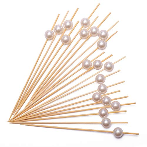 Cocktail Picks Handmade Bamboo Toothpicks 4.7