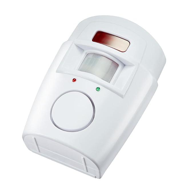 Mengshen® 2 en 1 detector infrarrojo inalámbrico de movimiento del IR la seguridad del sensor del timbre de alarma con control remoto 2 MS-H88: Amazon.es: ...