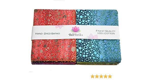 Premium Batik Fat Quarter Bundles 10 Fat Quarters JC5083