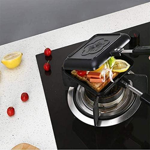 CattleBie Non-Stick gaz Sandwich Fer à Repasser Pain Toast Petit déjeuner Machine Waffle crêpes de Cuisson Barbecue Four Grill Moule Frying Pan Cuire