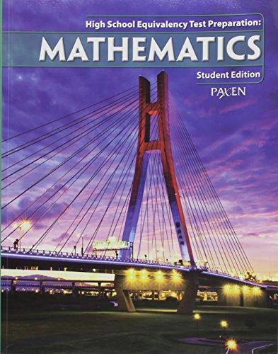 High School Equivalency Test Prep: Student Workbook Math