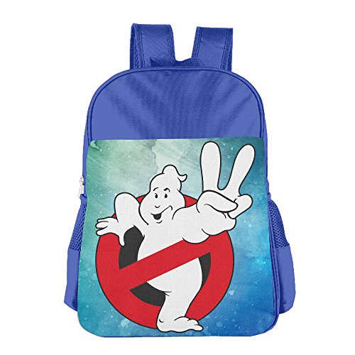 JXMD Custom Ghostbusters 2 Logo Teenager Schoolbag For 4-15 Years Old RoyalBlue (Disney Infinity Pikachu)