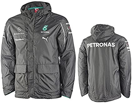 Puma Mercedes Amg Petronas F1 2014 Men S Team Jacket Dark Shadow