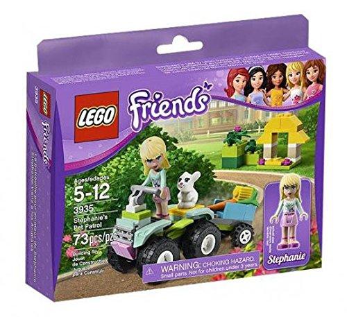 LEGO Friends Stephanie's Pet Patrol 3935 (Bike Lego Quad)