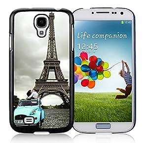 Samsung Galaxy S4 i9500 Case / Guard / Film / Cover Eiffel Tower Paris Samsung Galaxy S4 i9500 Case Black Cover