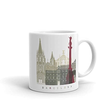 Amazon.com: Barcelona Catalonia Spain Coffee Mug Unique Tea ...