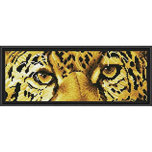 (Diamond Dotz Leopard Spy Painting)