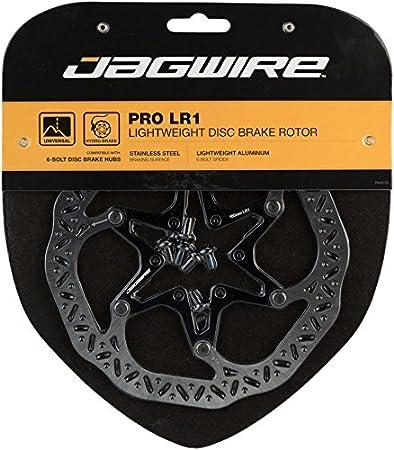 203mm 6-Bolt Silver//Black Jagwire Pro LR1 Disc Brake Rotor