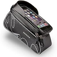 VANWALK In Frame Bike Bag w/Waterproof Touch Phone Case