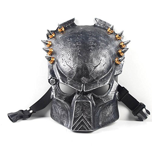 2015 - High Quality Details about Movie Predators Horror Face Mask Halloween Fancy Party April Fools Day M005