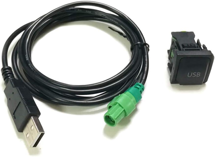 Usb Auto Kabel Adapter Mit Schalter Für Rcd 310 510 Elektronik