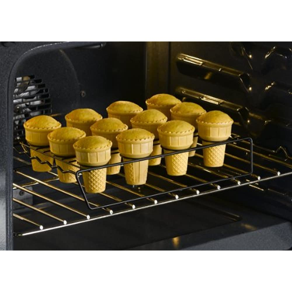 New Nifty Ice Cream Cone Cupcake Baking Rack Holder Stand
