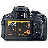 Canon EOS 700D / Rebel T5i Displayschutzfolie - 3 x atFoliX FX-Antireflex blendfreie Folie Schutzfolie