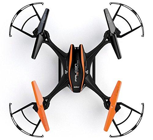 UDI RC U842 6-Axis Gyro 2.4Ghz Falcon RC Quadcopter with HD Camera, Black