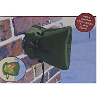 ABIsedrin Outside Tap Cover Jacket Insulated Protector, Dark Green, 15163CM