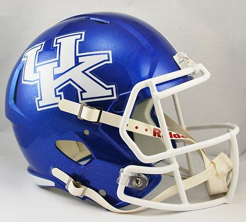 Kentucky Wildcats Riddell Full Size Speed Deluxe Replica Football Helmet (Deluxe Wildcats Helmet)