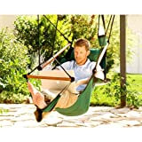 Hammaka Hanging Hammock Air Chair, Wooden