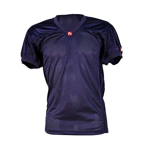 FJ-2 football jersey match, size XL, navy [Sports Apparel]