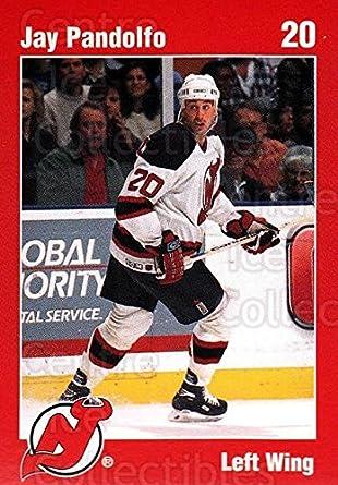 newest dd63e 75213 Amazon.com: (CI) Jay Pandolfo Hockey Card 1996-97 New Jersey ...