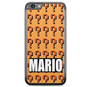 Loud Universe Mario Brother iPhone 6 Case Mario Pattern iPhone 6 Cover with Transparent Edges