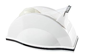 Wedo 0609000 Montego - Dispensador de celo (acrílico), color blanco y negro: Amazon.es: Oficina y papelería
