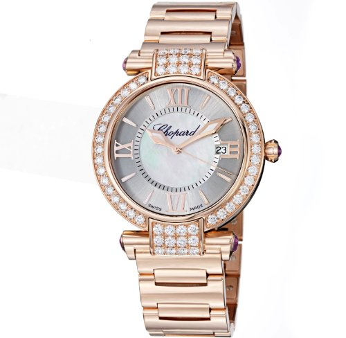 Chopard Imperiale Ladies Rose Gold Diamond Watch 384221-5004 ()