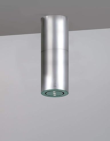 SilenTech - Campana extractora (40 cm, acero inoxidable, cristal, 1000 m3/h, motor SilenTech, campana de techo, campana extractora, campana extractora con bordes de aspiración efectivos): Amazon.es: Grandes electrodomésticos