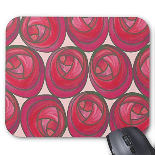 Rose Nouveau (Zazzle Art Nouveau Roses Pattern Mousepad)