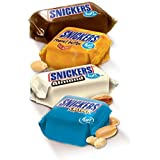 Snickers Fun Size Variety Pack - Almond, Original, Peanut Butter and Crisper - Bulk 5 Pounds