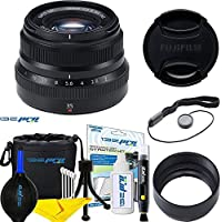 Fujinon XF35mmF2 R WR - (Black) + Expo Essential Accessories Bundle
