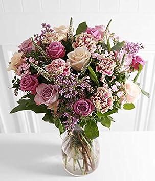 Luxe Bouquet Rose Et Lilas Y Compris Livraison Gratuite Pour La