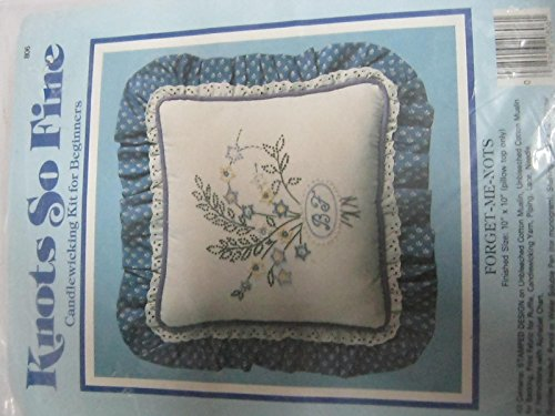 Knots so fine forget me knots candlewicking kit ()