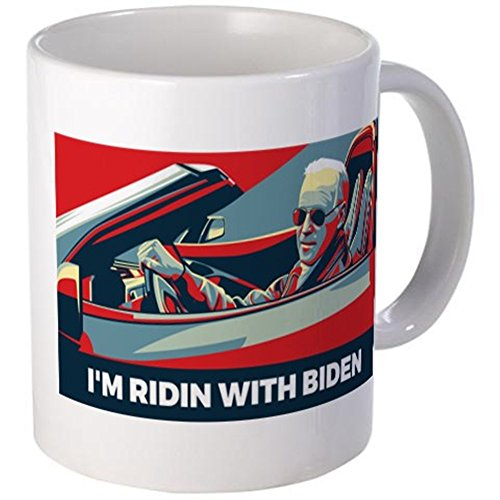 CafePress - I39;m Riding With Biden Mugs - Unique Coffee Mug, 11oz Coffee Cup