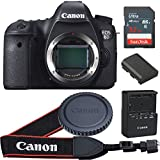 Canon EOS 6D 20.2 MP CMOS Digital SLR Camera with 3.0-Inch LCD (Body Only) - Wi-Fi Enabled (Certified Refurbished)