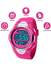 Kids Sport Watch Water-resistant Swimming LED Digital...