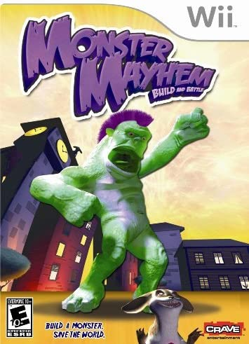 Monster Mayhem Build and Battle - Nintendo Wii by Solutions 2 Go