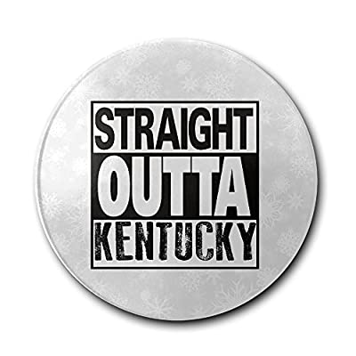 JFD Straight Outta Kentucky Bar Drink Ceramic Coaster Furniture