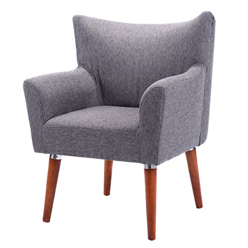 Diamondgift Arm Chair Sofa Leisure Single Couch Seat Home Garden Living Room Furniture New (French Louis Xv Arm Chair)