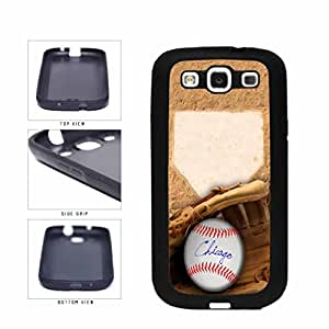 Chicago Blue Glove and Baseball TPU RUBBER SILICONE Phone Case Back Cover Samsung Galaxy S3 I9300